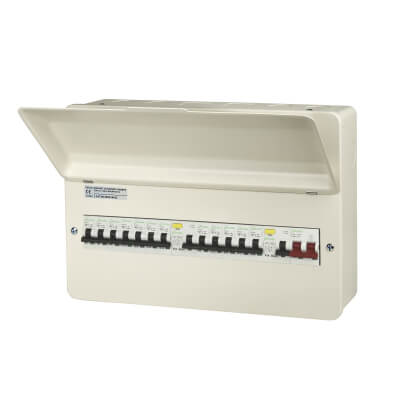 Danson 100A Amendment 3 Metal Consumer Unit - 12 Way)