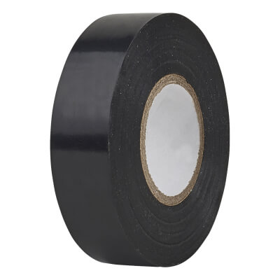 Directa 19mm Roll PVC Tape - 20m - Black)