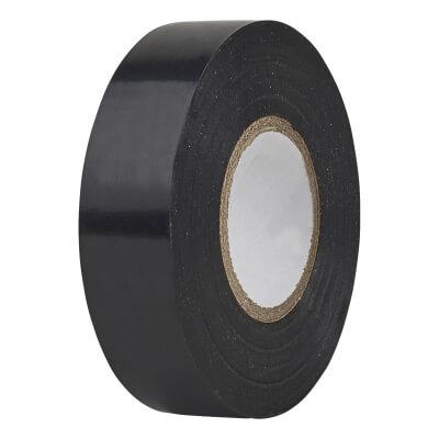 Directa 19mm Roll PVC Tape - 20m - Black)