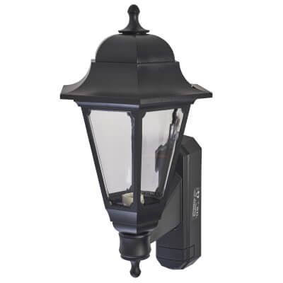ASD Lighting 100W Outdoor Lantern Uplight - Black)