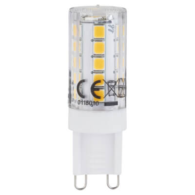 3W G9 LED 240V Dimmable (equiv 30W) - 4000K)