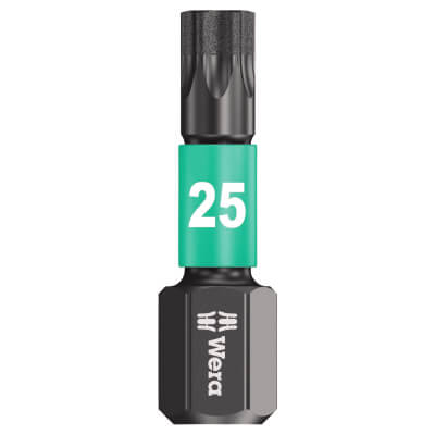 Wera Impaktor Torx Bit Single - TX25 x 25mm)