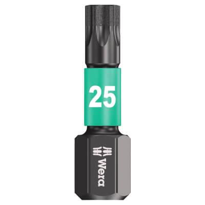 Wera Impaktor Torx Bit Single - TX25 x 25mm