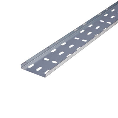 Trench Light Duty Cable Tray - Galvanised - 75 x 3000mm