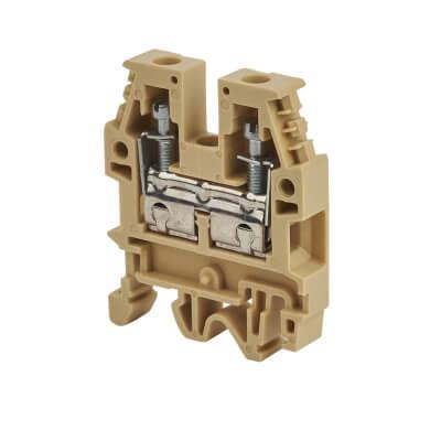 DIN Rail Terminal Block - 6mm)