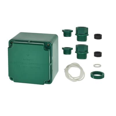 Marshall Tufflex Earth Box - 81 x 81 x 67mm - Green)