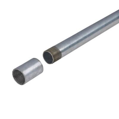 Steel Conduit - 20mm x 3m - Galvanised)