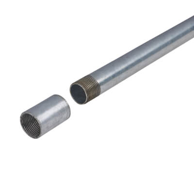 Steel Conduit - 20mm x 3m - Galvanised