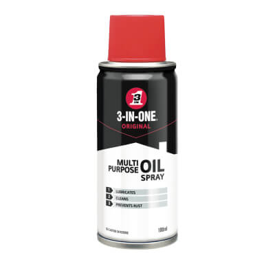 3-IN-ONE Original Multipurpose Aerosol Oil Spray - 100ml