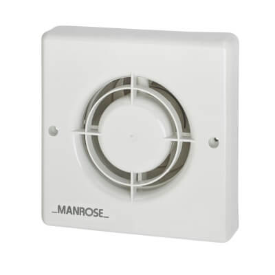 Manrose XFLV 4 Inch Axial Low Voltage Extractor Fan)