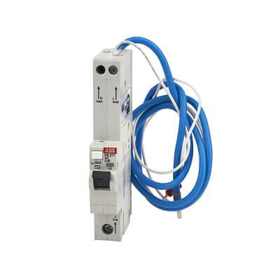 ABB 40A 30mA 10kA 1 Module 3 Phase RCBO - Type C)