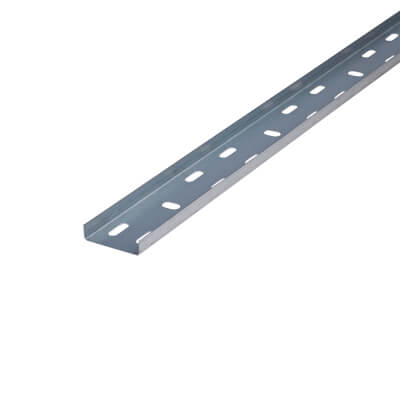 Light Duty Cable Tray - 50 x 3000mm - Galvanised)