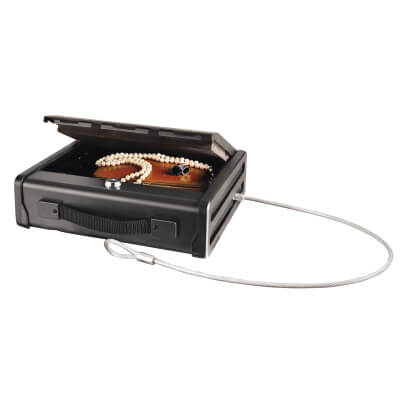 Masterlock Compact Security Safe with Key Lock - 255 x 288 x 83mm )