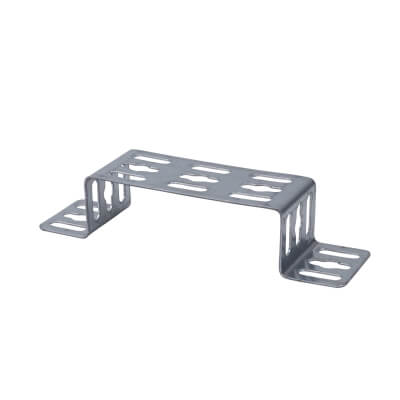 Trench Cable Tray Stand Off Bracket - 100mm - Galvanised