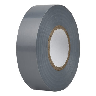 Directa 19mm Roll PVC Tape - 20m - Grey)