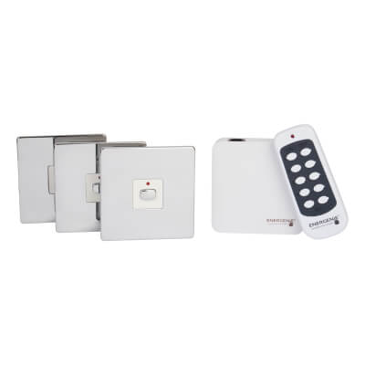 Energenie MiHome Switch Bundle - Polished Chrome)