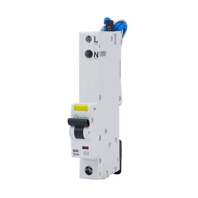 Danson 20A Single Pole RCBO - Type B