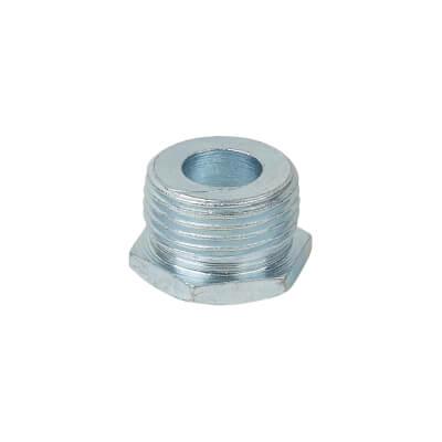 Steel Conduit Hexagonal Plug - 20mm - Galvanised)