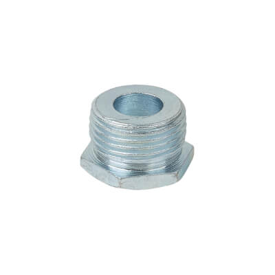 Steel Conduit Hexagonal Plug - 20mm - Galvanised
