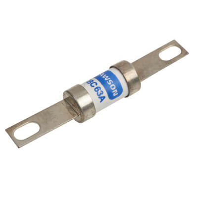 63A 400/415V TBC Central Tag Industrial Fuse-Links with Bolt Connections)