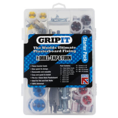 Grip It Plasterboard Fixing - Starter Pack