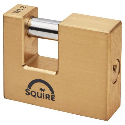 Brass Shutter Lock - 70mm