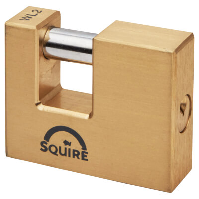 Squire Brass Shutter Lock - 70mm)