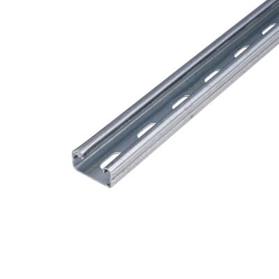 Pre-galvanised Slotted Channel - Light Gauge - 41 x 21 x 3000mm)