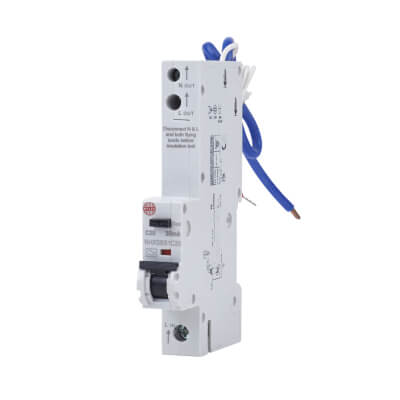 Wylex 20A Single Pole NH RCBO - Type C