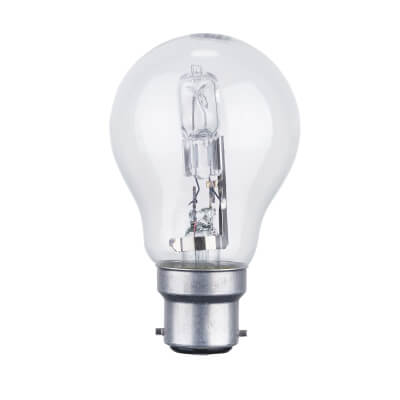 72W BC GLS Halogen Lamp - Dimmable - Clear