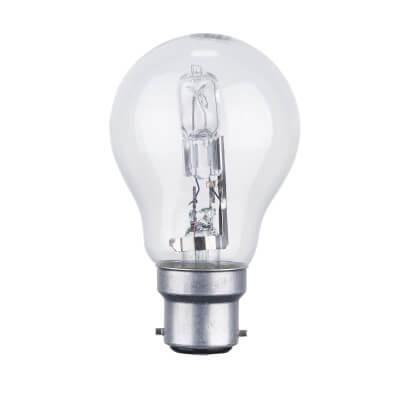 72W BC GLS Halogen Lamp - Clear