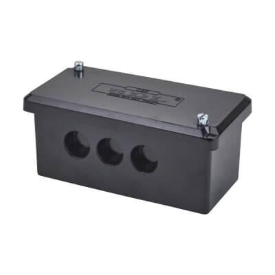 200A Single Pole Connector Block - Black)