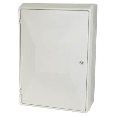Fire Retardant Surface Meter Box - 596 x 410 x 220mm