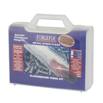 Plasterboard Fixing Kit - Pack 100)