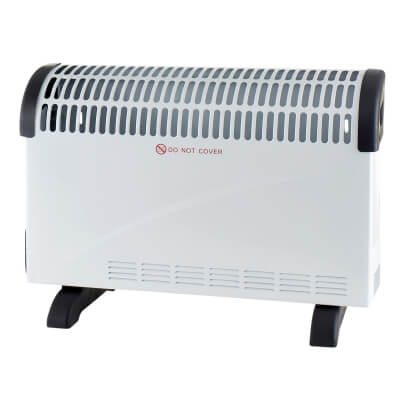 Vent-Axia 2kW Convector Heater with Timer Control)