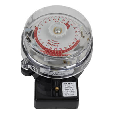 Sangamo Quartz 24 Hr Timer Switch - 20A - 3 Pin)