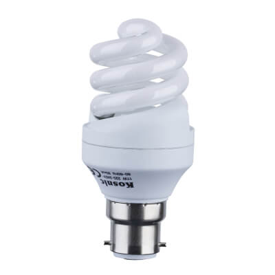 11W Energy Saving Spiral Lamp - BC