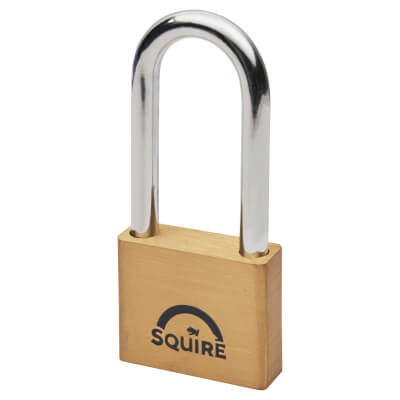 Squire Lion Open Long Shackle Padlock - 50mm - Keyed to Differ