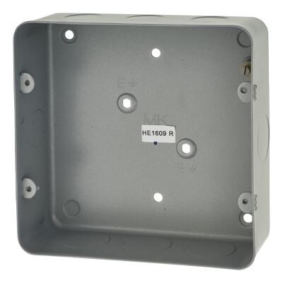 MK 6-8 Gang Grid Module Flush Back Box)