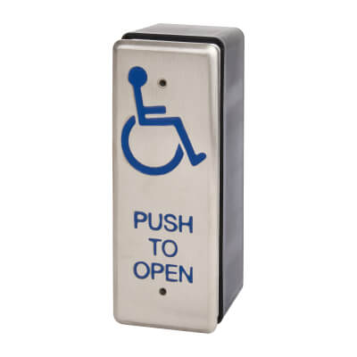 Equality Act Push to Open Button - Architrave)