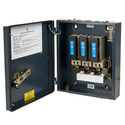 CED 63A 3 Phase Switch Fuse
