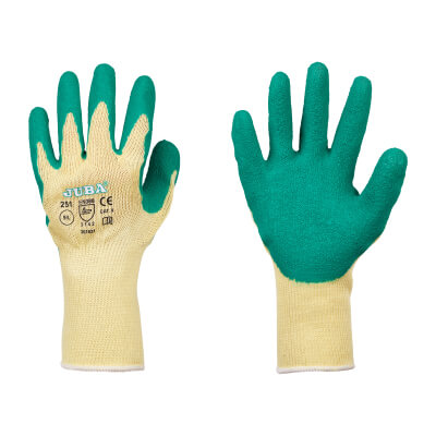 Mens Builders Grip Gloves - Large)