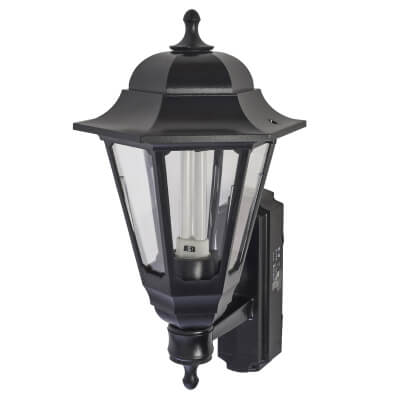 ASD Lighting 9W Coach Lantern - Black)