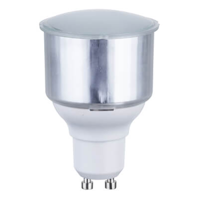 11W GU10 Low Energy Spotlight Lamp - Cool White)