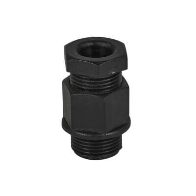 Thread PVC TRS Gland - 20-20mm - Black - Pack 10)