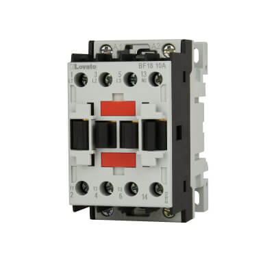 Lovato 18A 230V Three Pole Contactor