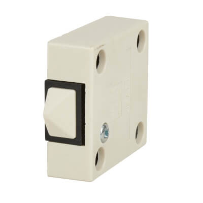 Surface Door Switch - White)