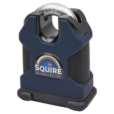 Squire Maximum Security Closed Shackle Padlock - 65mm - Keyed To Differ