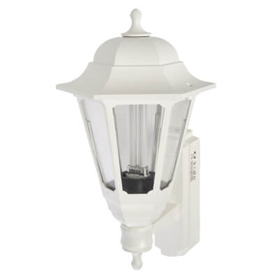 ASD Lighting 9W Coach Lantern - White)