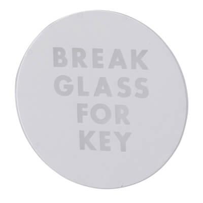 STI Replacement Glass - Round Box)